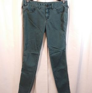 Free People Jeans - Free People Teal Skinny Jeans. Size 30